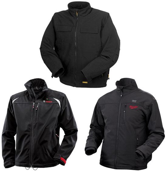 heated jackets dewalt bosch milwaukee heated jacket comparison kruxlom