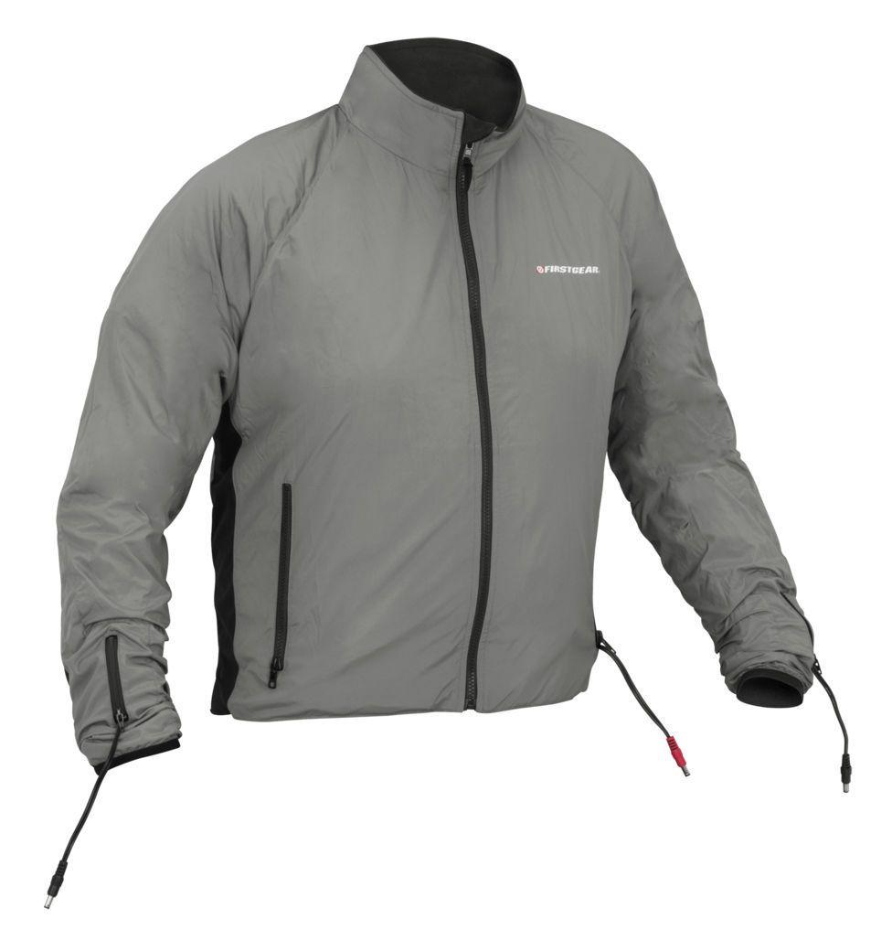 heated jackets firstgear heated jacket liner - revzilla sgynbit