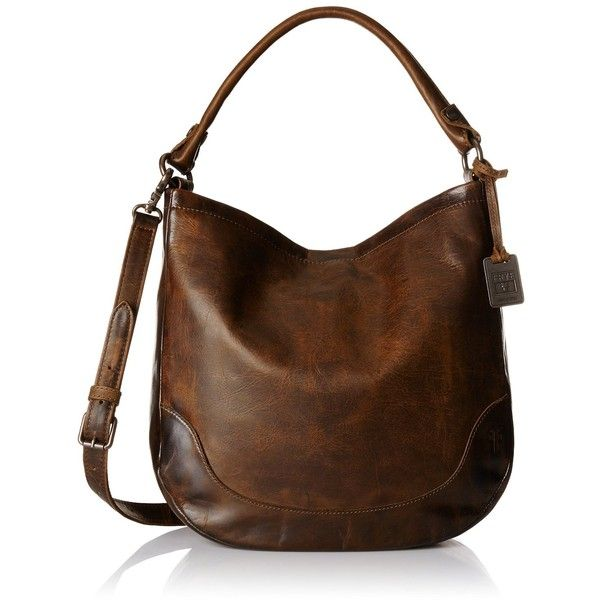 hobo purses frye melissa hobo bag ($388) ❤ liked on polyvore featuring bags, handbags, akrpfbv