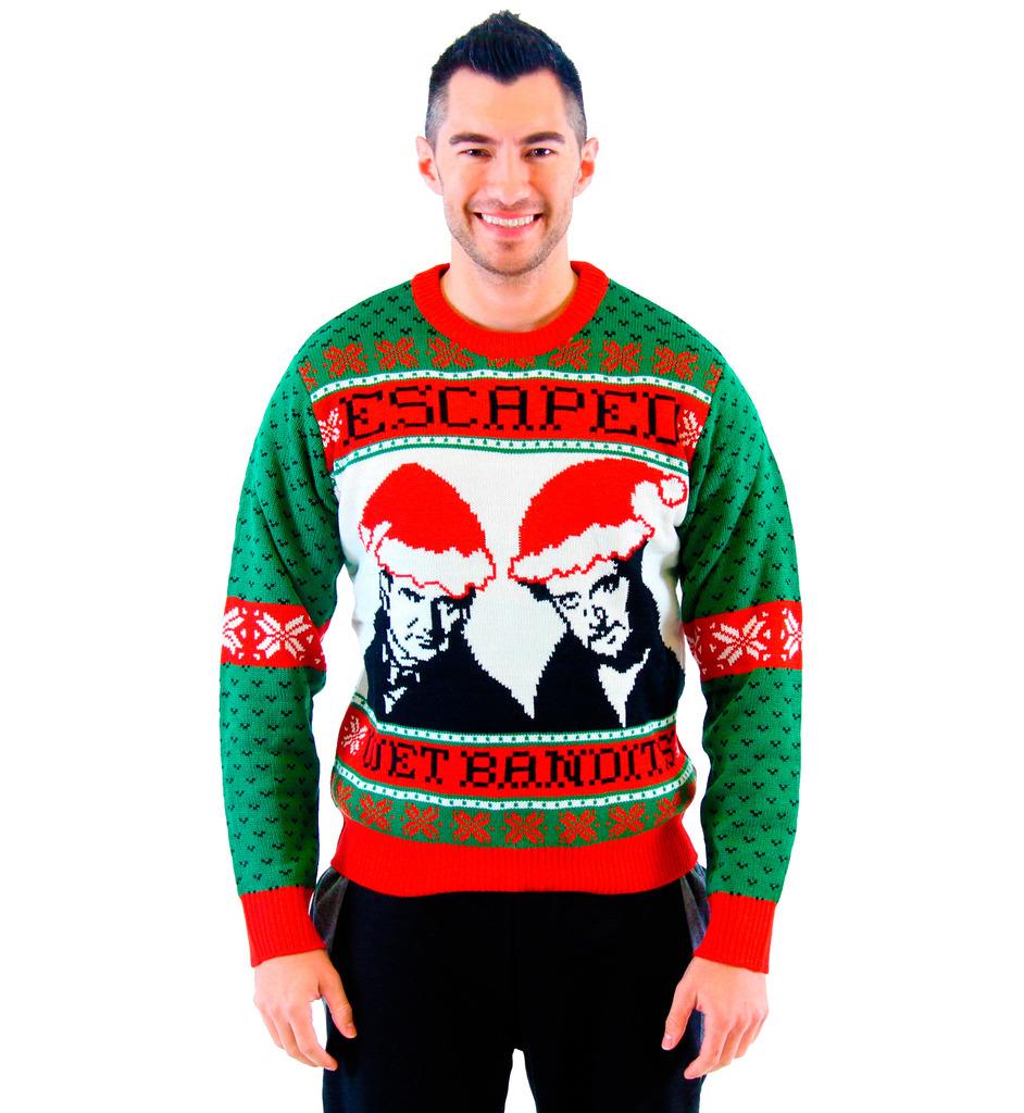 home alone wet bandits ugly christmas sweater qbduyik