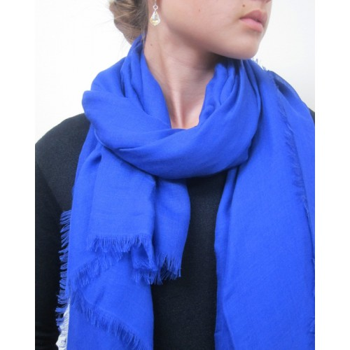 how to choose a blue scarf for your outfit - 2013.09.23 lyurfvs