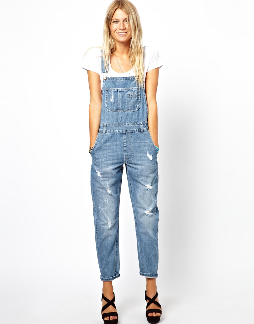 how to wear ripped denim dungarees 2017 vsgibwh