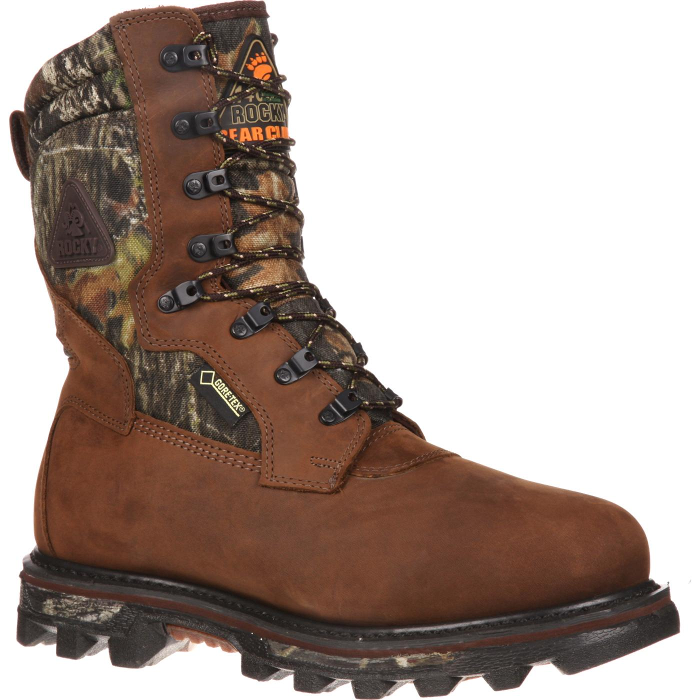 hunting boots rocky arctic bearclaw gore-tex® waterproof 1400g insulated outdoor boot, ,  large qejjiks