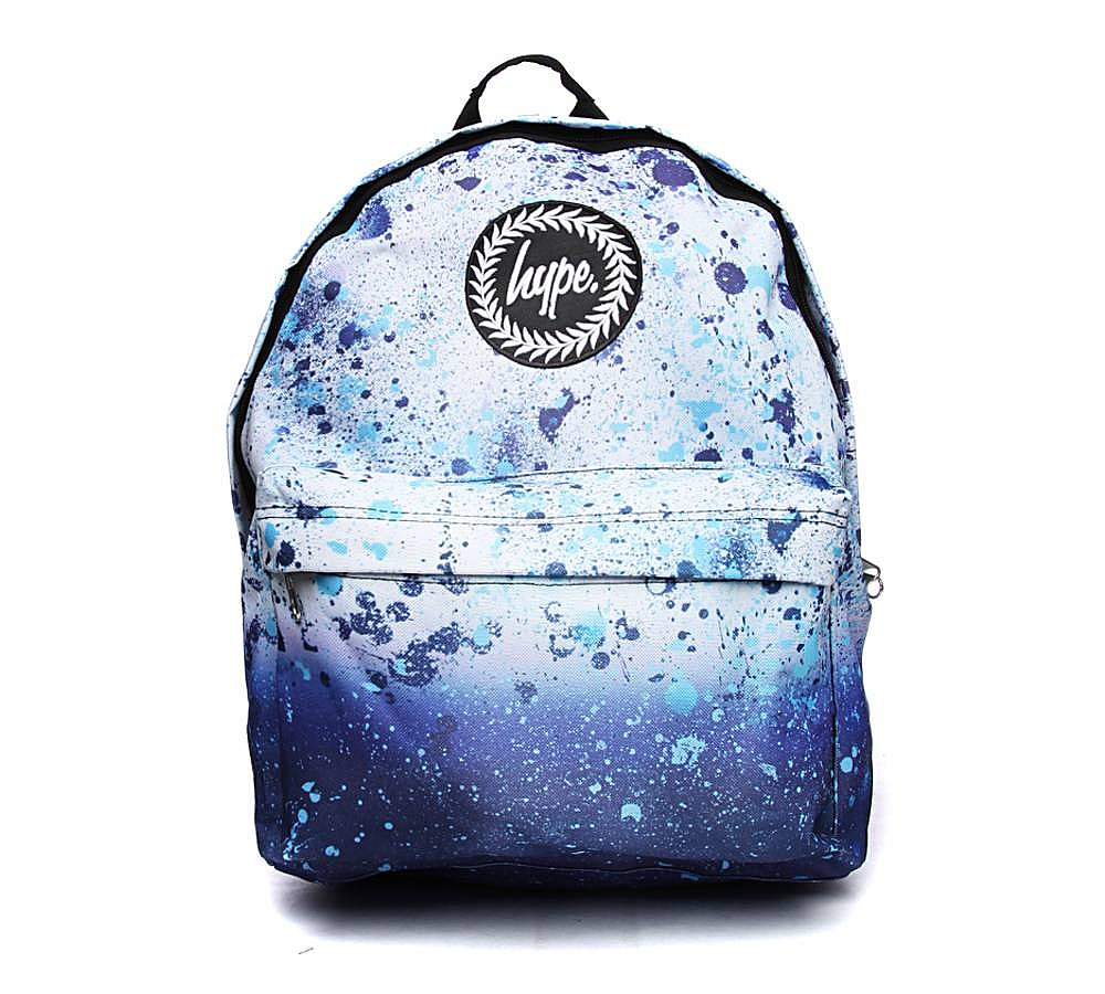 hype bags hype speckle backpack | blue | footasylum etirbxb