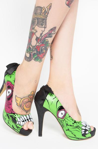 iron fist heels zombie stomper platform - iron fist clothing rcmtecv