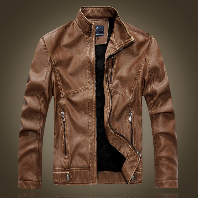 jacket for men aliexpress.com : buy autumn and winter leather motorcycle leather jacket  menu0027s leather hdzjhyj