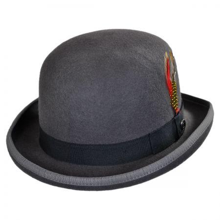 jaxon hats english wool felt bowler hat svkwrqo