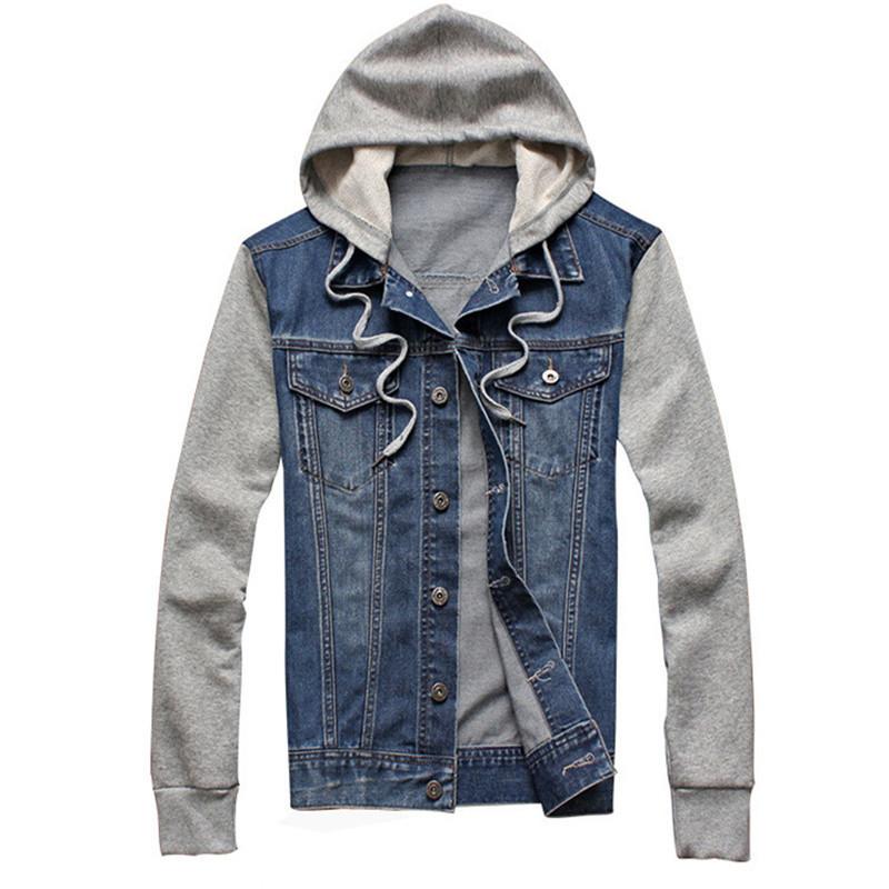 jean jackets 2017 new fashion menu0027s fleece hoodies cowboy men jacket tracksuits denim  jacket ojyeekd