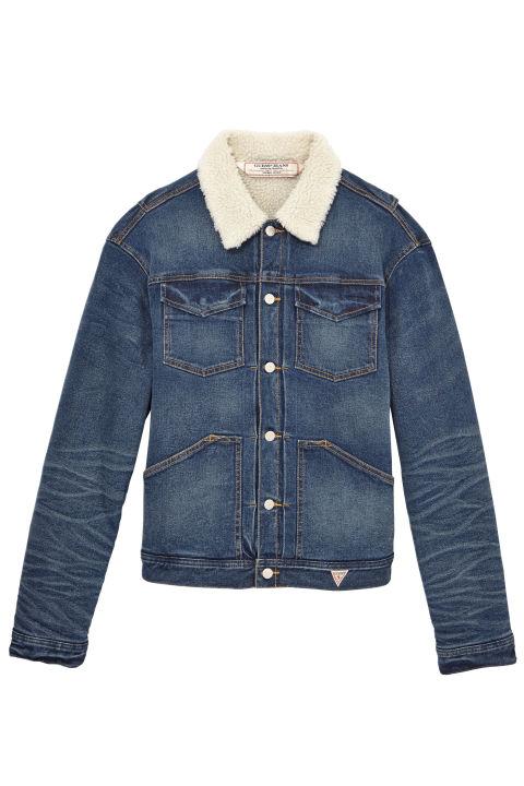 jean jackets guess cotton denim jacket,u0026nbsp;$178;u0026nbsp ... biwkyoj