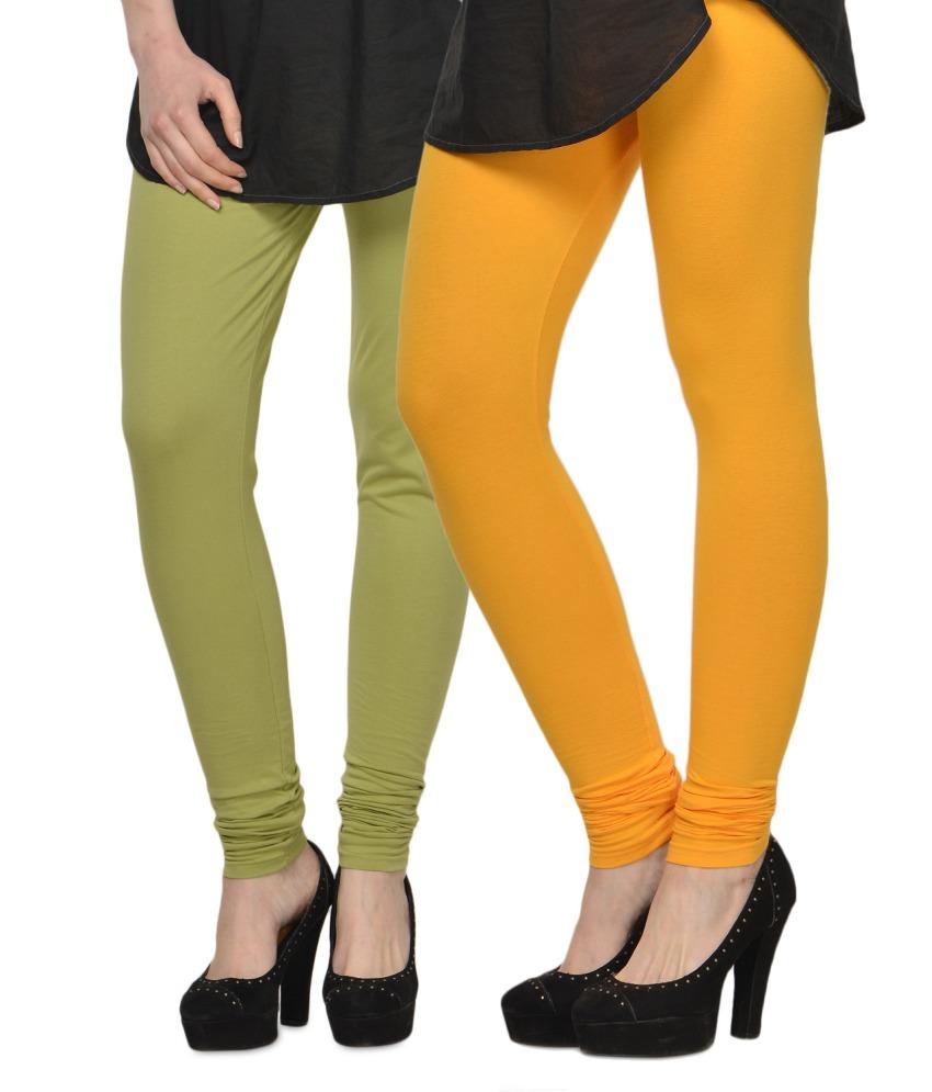 kjaggs cotton leggings-set of 2 ... yjcwysv