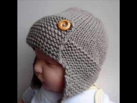 knitted baby hats baby aviator hat regan - knit baby hats pattern presentation yxbshwz