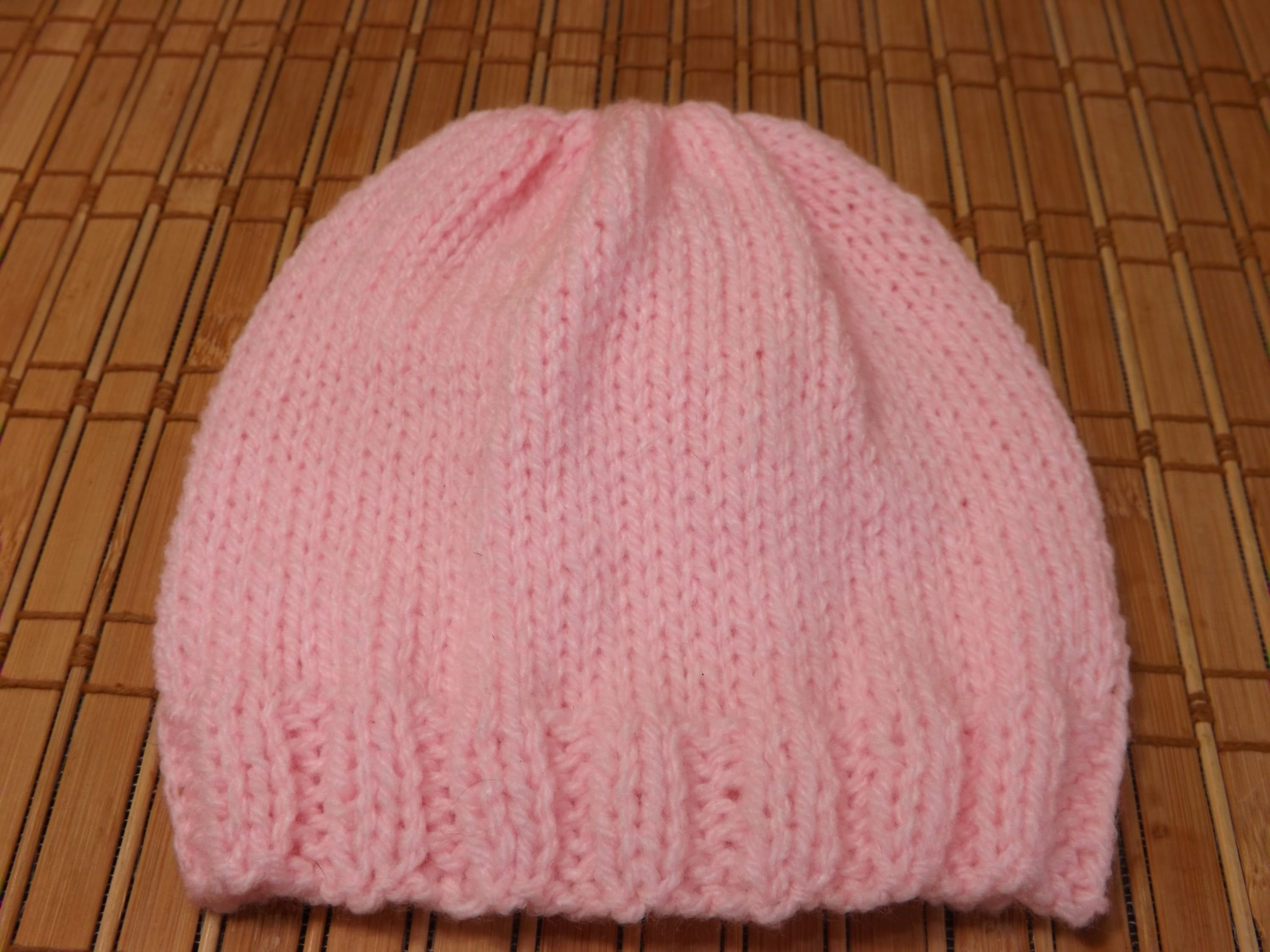 knitted baby hats how to knit a newborn babyu0027s hat for beginners - youtube hlgiqtb