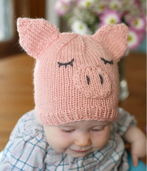knitted baby hats this little piggy went home baby hat | allfreeknitting.com znwpybd