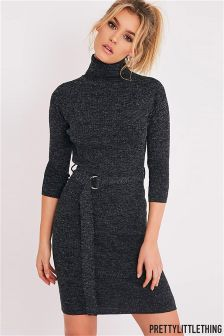 knitted dress prettylittlething knitted jumper dress fyeasbs