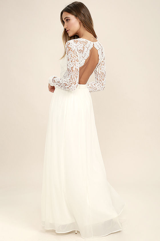 lace long dress awaken my love white long sleeve lace maxi dress 1 jafahqb