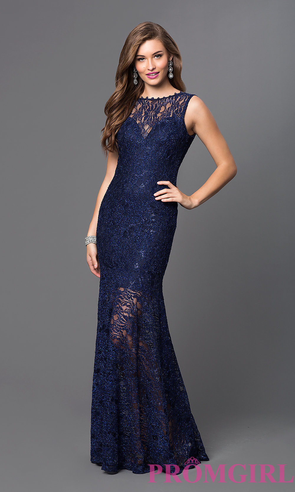 lace long dress hover to zoom htyfumf