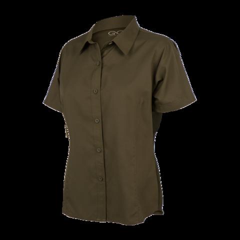 ladies shirts ladiesu0027 olive microfiber shirt - gameguard outdoors - 1 tkicnsf