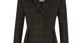 ladies tweed jacket jack murphy womens/ladies beth british tweed country jacket nsvmqbv