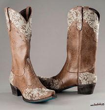 laneu0027s womenu0027s tan leather western jeni lace wedding boots lb0168c plhicmj