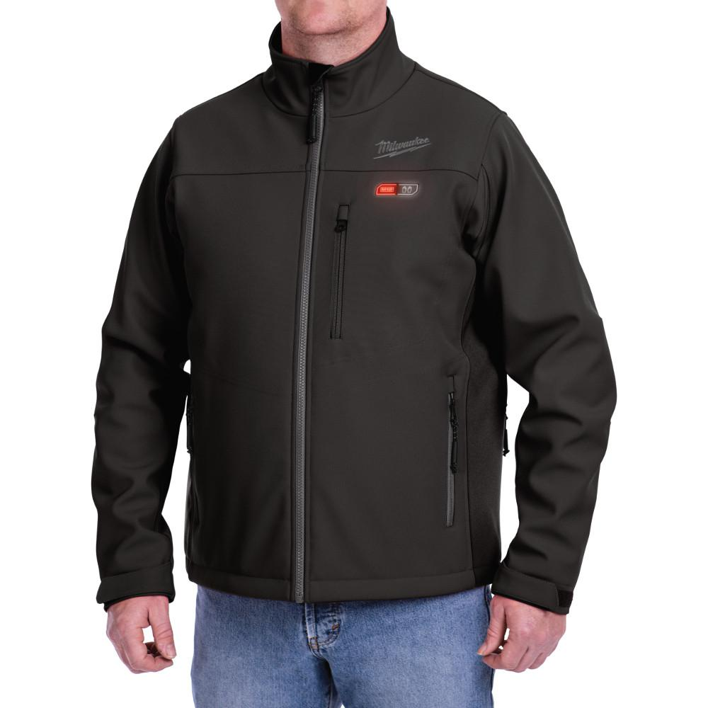 large m12 12-volt lithium-ion cordless black heated jacket (jacket-only jkuglwr