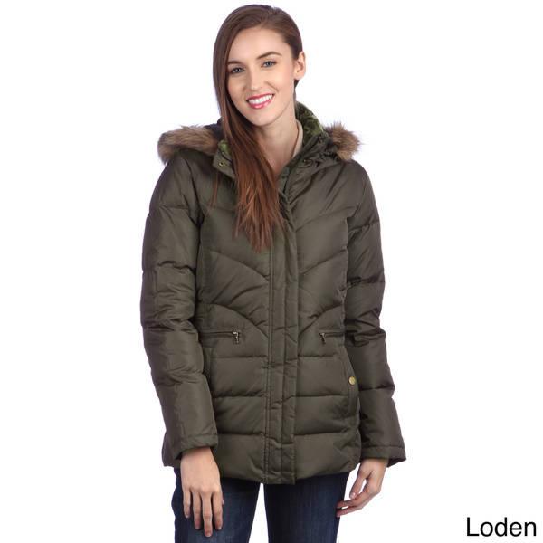 larry levine coats larry levine womenu0027s water resistant down-filled jacket pbbwvgt