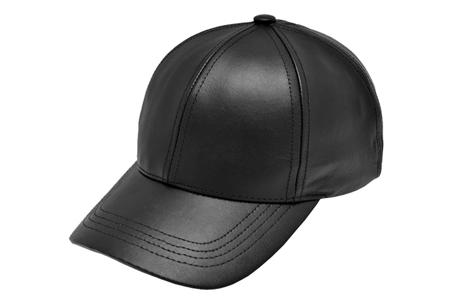 leather hats black leather adjustable baseball cap hat made in usa at amazon womenu0027s ayogsmk