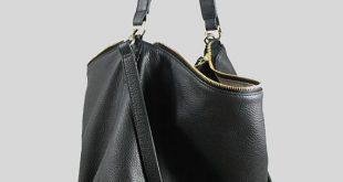 leather hobo bags nela black leather hobo bag large shoulder bag by mishkabags gqxjkhn