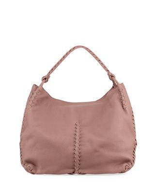 leather hobo bags bottega venetamedium deerskin leather hobo bag owbhixq