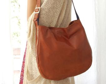 leather hobo bags brown leather hobo bag, leather hobo bag, hobo purse, everyday bag, womenu0027s wpcdzbx