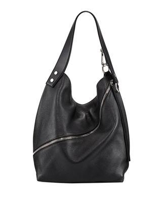 leather hobo bags medium grain leather hobo bag djrzvdi
