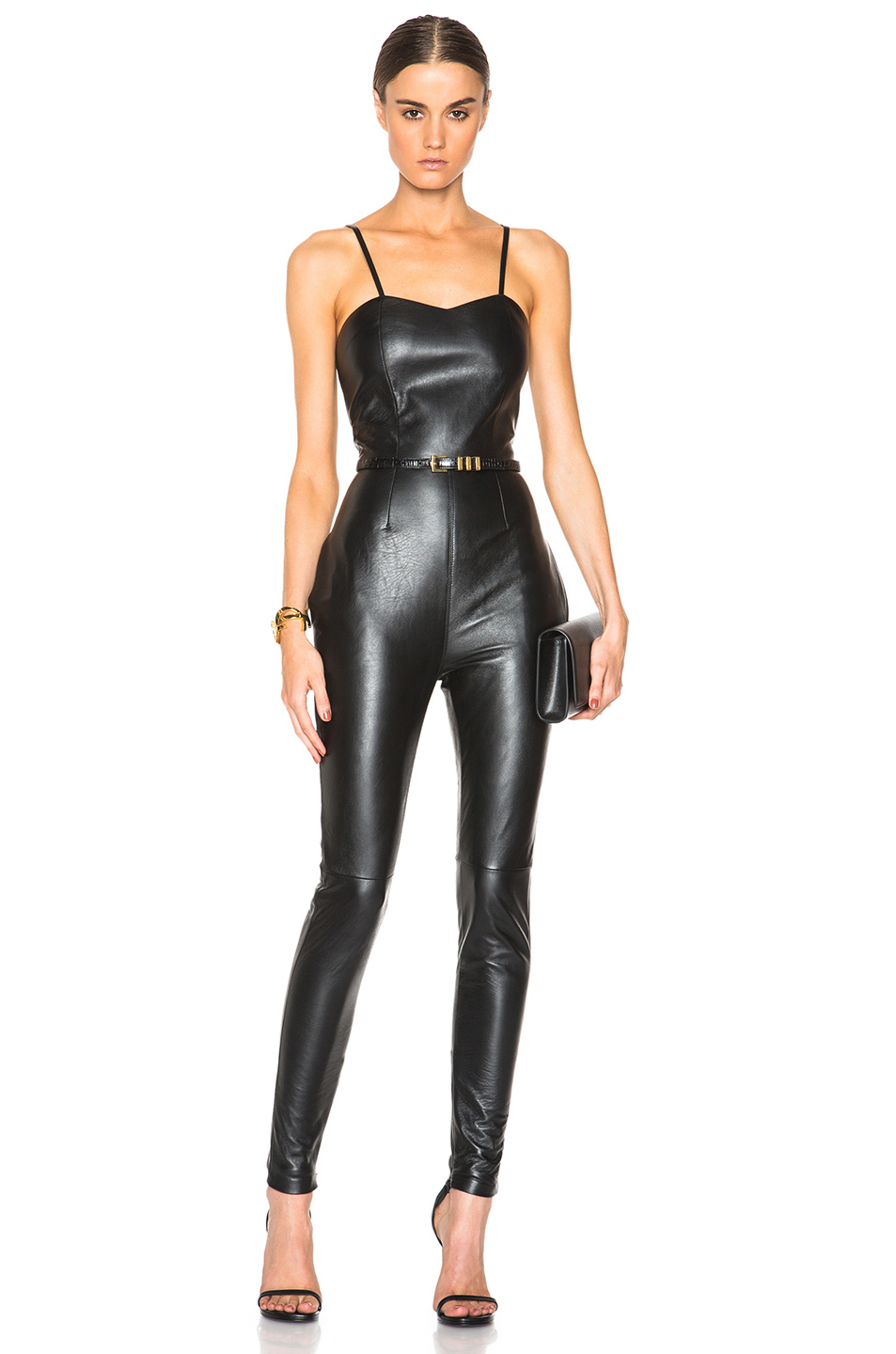 leather jumpsuit gallery zlineke