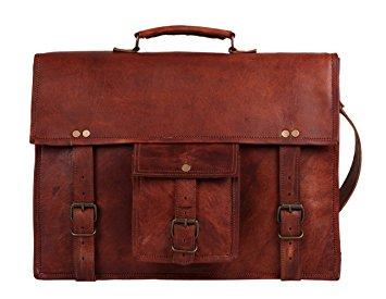 leather laptop bag 15 inch leather vintage rustic crossbody messenger courier satchel bag gift  men mqnzrzs