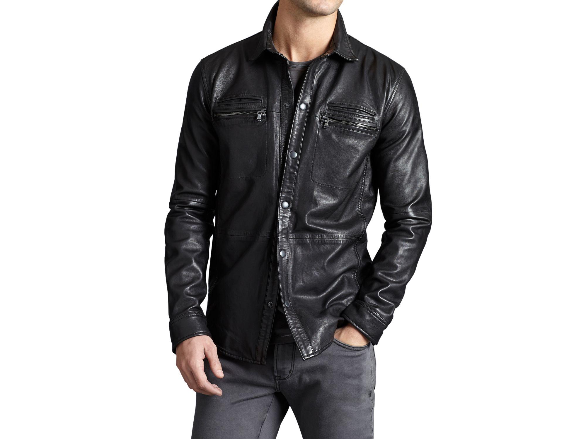 leather shirt gallery pqopbyr