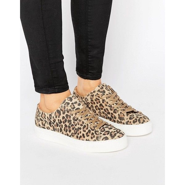 leopard sneakers selected femme donna leopard sneaker ($121) ❤ liked on polyvore featuring  shoes, ggljdnd