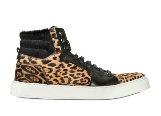 leopard sneakers yves saint-laurent pony hair u0027leopardu0027 sneakers   highsnobiety jqnabva