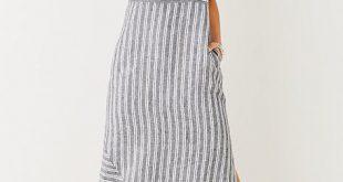 linen dresses long striped linen dress - j. jill ydmbhil