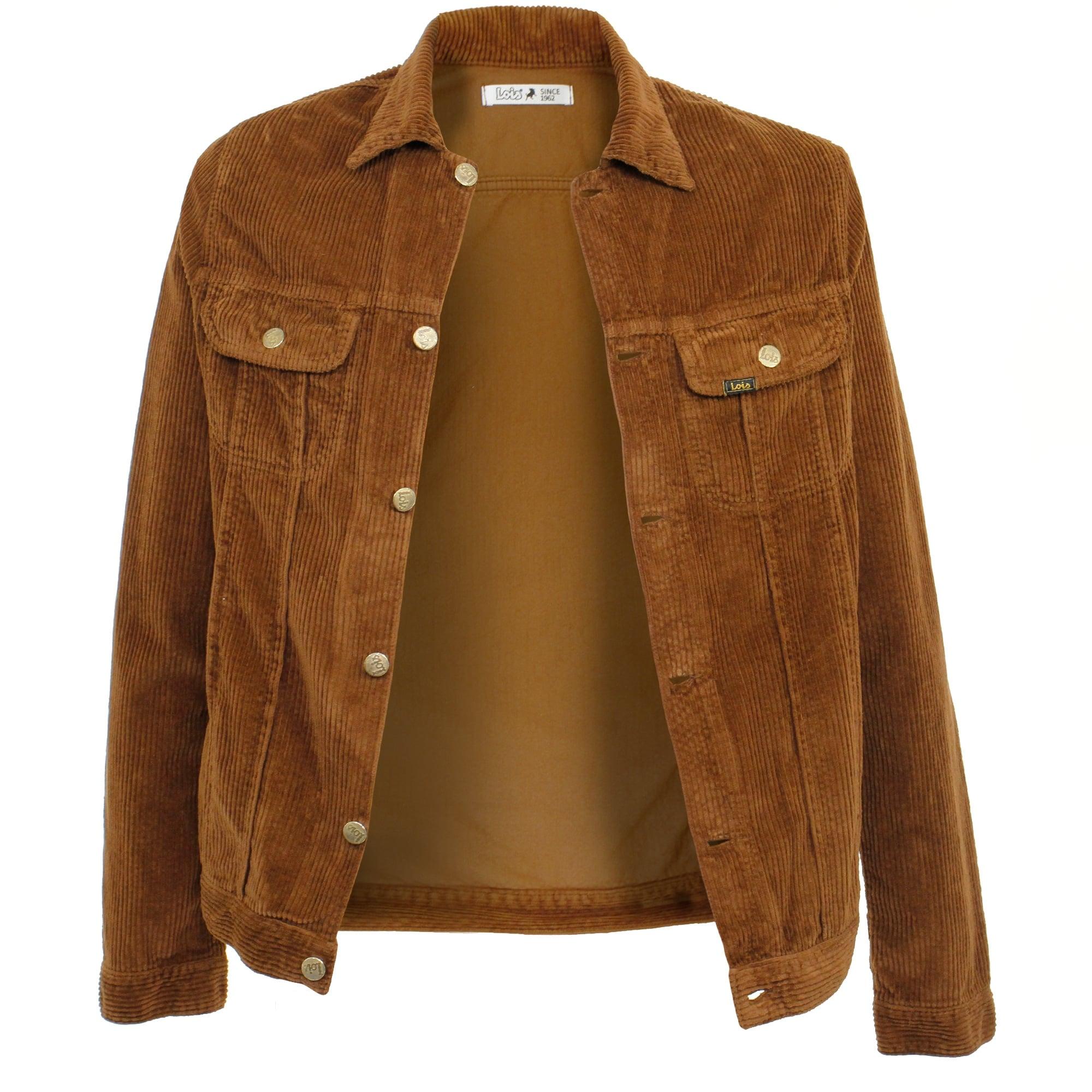 lois jeans jumbo cord brown corduroy jacket 1001394br loodthv
