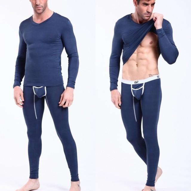 long shirts for leggings aliexpress.com : buy menu0027s modal thin fabric underwear set v neck shirts + aerftnx