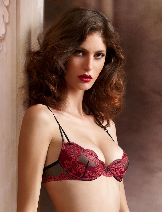 low cut bra lise charmel nuits du0027ete low cut push-up bra hleirqc