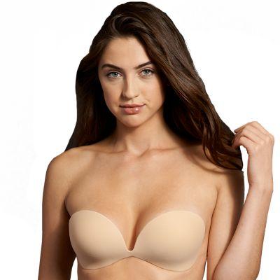 maidenform bra: invisible adhesive backless strapless bra m2289 ymmumdv