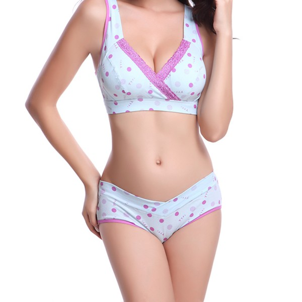 maternity underwear pregnant women maternity panties briefs cotton dot underwear underpants  thongs(china (mainland)) kzipelh