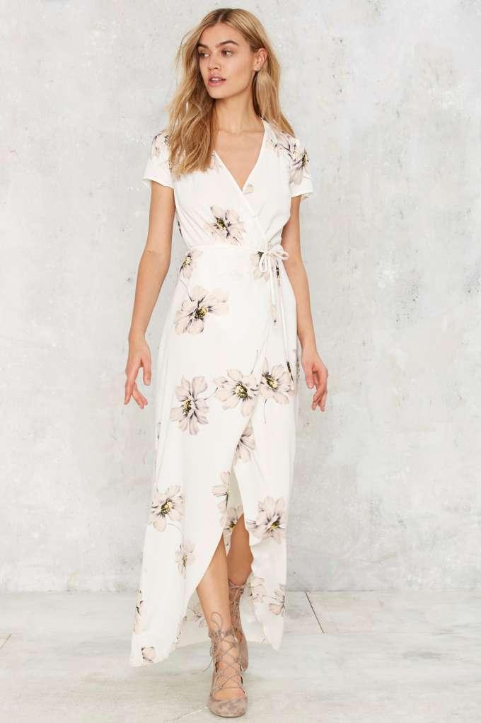 maureen maxi wrap dress - clothes | day | midi + maxi | vldgiik