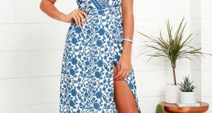 maxi wrap dress french doors ivory and blue floral print wrap maxi dress 1 sqkcwdr