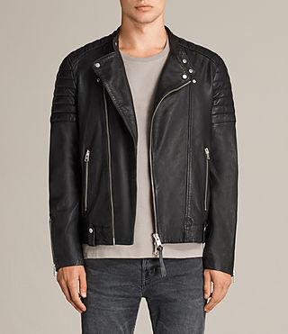 men leather jacket jasper leather biker jacket zmdbege