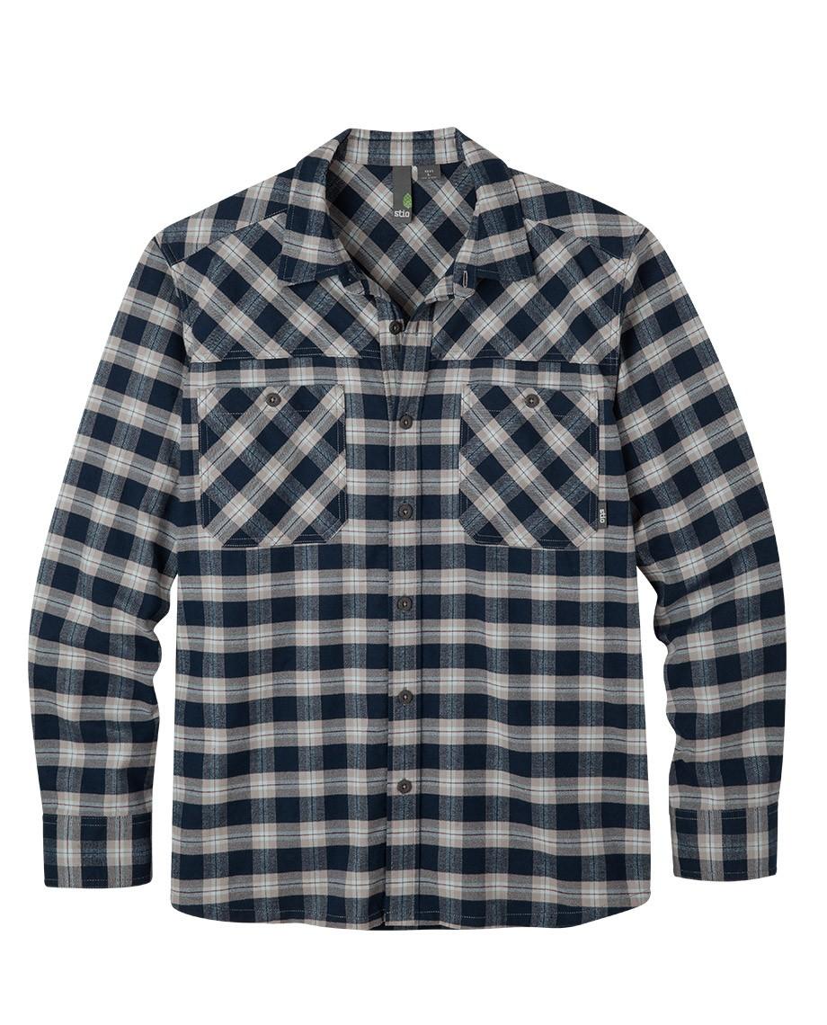 menu0027s miter flannel shirt iwhmdrj