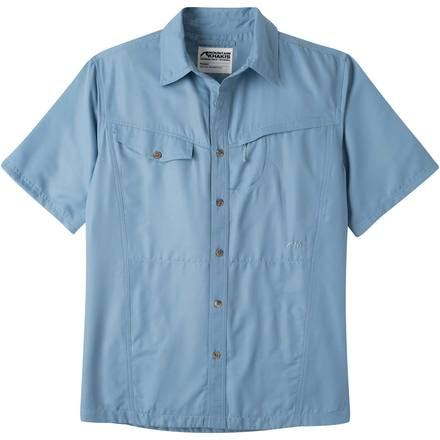 menu0027s trail creek short sleeve shirt - mountain khakis fvgonao