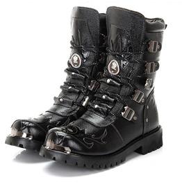 mens black boots menu0027s military multi buckles boots men martin boots cowboy boots rdmumbl