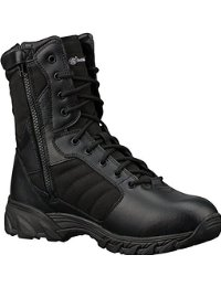 mens black boots smith u0026 wesson breach 2.0 menu0027s tactical side-zip boots (12, 9 bseyvfu