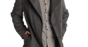 mens pea coats alpine-swiss-jake-mens-pea-coat-wool-blend- wockkhx