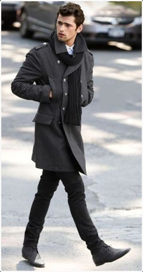 mens pea coats it can be as long as you want it to be. pnuxvpj